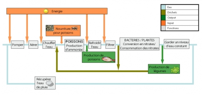 Rappel du principe de fonctionnement - Aquaponic Management Project